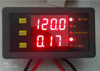 10V-120VDC amp hour meter - DC10 V A Dual LED Battery Tester AMP Voltage Power Ah Hour Meter