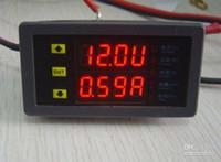 Wholesale A DC8 V Dual LED Display Digital Voltmeter Ammeter Voltage AMP Power Meter