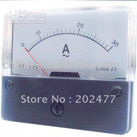 Cheap 20x Free Shipping YS-670 AC 30A Analog Ampere Current Panel Meter Ammeter