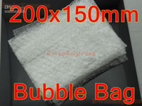 Wholesale Bubble cushioned mailer air bubble bag Bubble Pouches Cushioning Wrap Bags x150mm