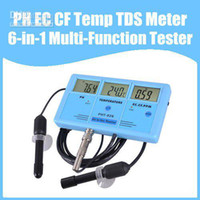 Wholesale PH EC CF Temp TDS Meter Tester in Multi Function Tester Water Testing Meter Multi