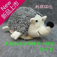 Wholesale Hedgehogs3 plush car toys car cd bag cartoon cd package cd bag car cd folder storage bag