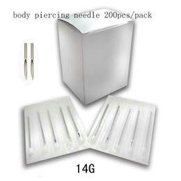 Wholesale body piercing needle G BEst selling pack