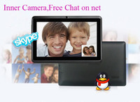 Wholesale Q88 Allwinner A13 inch Tablet PC Capacitive Screen Android MB GB WIFI Camera DHL Shipping