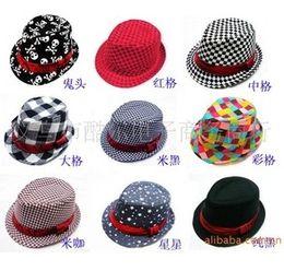 Wholesale 2013 Baby Classical Canvas Caps Baby Hat Kids Daily Hat Girls Sun Hat Children Summer Hat