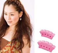 Wholesale Fashion Braided Hair Tool Hair Clip Women Sponge Hair Braider Twisting Accessories S L