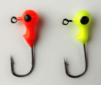 Wholesale best price Jig Big Eye G Fishing lures lead headed hook Mini LEAD ROUND HEAD FISHING LURE JI