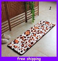 Plush Fabric floor mat - Fashion Floor Mat Door Carpet Skidproof Mat