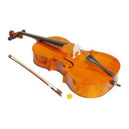 Wholesale 4 Wood Cello Bag Bow Rosin Bridge Natural Brand New Ship From USA
