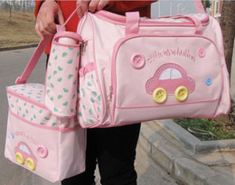 Wholesale Mummy Bag Nappy Bag Baby Diaper Bag Nursery Bag Mami Mulitifunctional Bag Colors