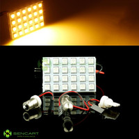 Wholesale 27MM MM MM MM MM T10 BA9S SMD LED white yellow red blue Warm White Festoon Dome bulb