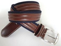 Wholesale Men Cloth Accessories Canvas Belt Casual Jean Belts cow leather