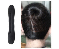 Barrettes & Clips african hair designs - Hot selling New design Magic Sponge Hair Styling Bun Maker Twist Curler Tool