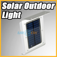 Wholesale 16 LED Solar Power Sound Sensor Detector Outdoor Light Waterproof Lamp Lantern