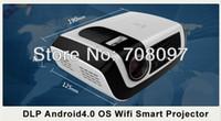 Cheap SmartIdea C5 LED lamp DLP tech 20% brightness than VIVITEK Q2 HDMI USB TV AV VGA Projector beamer