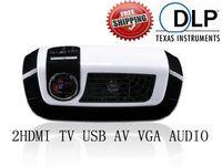 Cheap DLP+Osram LED lamp,Full HD1280*800 portable projector (20% brighter than VIVITEK Q2)