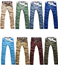 Wholesale Top Men s Stylish Designed Straight Slim Fit Trousers Casual Pants