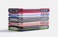 Wholesale Newest Hot Sale Metal Delicate case cover for apple iphone S DHL