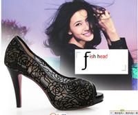 Wholesale 2014 Wedding Focus Shoes High heel Lace shoes party evening shoes bridal wedding shoes Hot sale