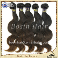 Bosin factory best quality virgin russian hair tape hair ext...