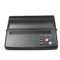 Wholesale Tattoo Transfer Machine thermal Copier Stencil Machine free gift spirit Transfer Paper ZY003 WS011