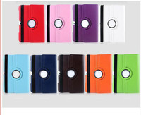 abs rotation - 10 colors Rotation PU Leather Cases cover for Samsung Galaxy Tablet
