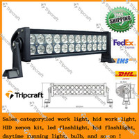 Wholesale 12v LED light bar W LED driving light LED Light Bar with spot flood combo beam for SUV ATV truck