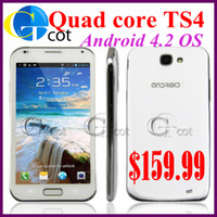Wholesale Tronsmart TS4 MT6589 Quad Core Smart Phone Android inch QHD Screen GB RAM GB ROM Camera