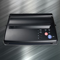 Wholesale Tattoo Transfer Machine thermal Copier Stencil Machine free gift Spirit Transfer Paper ZY009