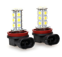 Wholesale Car LED Fog Lamp Automobile Light Bulbs Wedge SMD Ultra bright H11