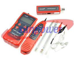 Network Cable Tester Tracker Phone Line Tester BNC Network Finder USB RJ11 RJ45 Wire Tracer