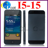 Wholesale Smart phone i5 I5 Android OS Inch Capacitive screen MTK6515 GHz MP Camera dual camera