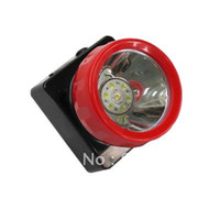 Wholesale LED Mining Cap Lamp Camping Headlight Headlamp
