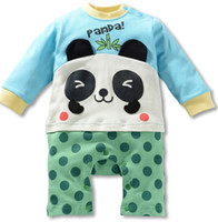 Cartoon baby winter coverall - Modeling Romper Coverall boxer Romper baby clothes climbing clothes