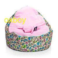 Wholesale Chirpy Pink Baby Seat bird style baby beanbag waterproof doomoo bean bag