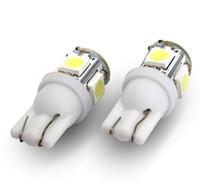 T10 Car Lens LED instrument cluster - 2013 LED Lamp Clearance Light T10 SMD Corner Bumper Light Instrument Cluster Light