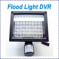 Wholesale Home Security HD P Flood Light PIR Camera Security DVR Video Recorder Auto Light LED Ligter night vision camera surevillanc