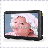 Wholesale Latest inch HD Portable GHz GHz Wireless Mini DVR Support Wireless Wired Receiver baby monitor recorder video
