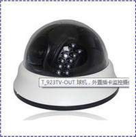 Wholesale HK POST Surveilance Camera TVL CCD LED Infrared Day amp Night IR DOME color CCTV CAMERA T923