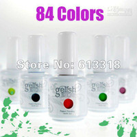 Base coat Gel Led uv gel Yes Free shipping! Hot sale ,IDGelishgel Soak Off Nail Gel UV POLISH (color nail gel 10bottles+1free bas