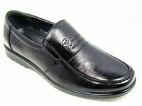 Wholesale Plus size men genuine leather casual shoes plus size cowhide single shoes formal shoes