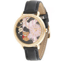 Wholesale 2013 Korea Mini Watch d Women Fashion Polymer Watches Miniature Polymer Clay Rhinestone Jelly