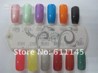 Clear uv gel best clear nail polish - Nail Art Soak off UV Lamp Polish ml high quality low price the best hot