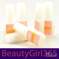 Base coat Gel Clear uv gel 87g New 6pcs Nail Glue For Brush False French Tips Nail Art Free Shipping