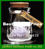 Wholesale Popular Flash Wishing Bottle DIY LED colorful lamp Lantern Light vow crystal Girl Gift