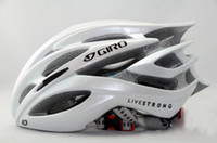 Wholesale road bike bicycle cycling helmets giant helmet super light g titanium red white blu