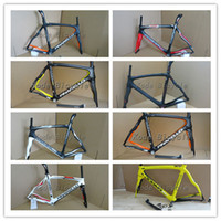 Wholesale 2014 K Asymmetrical amp Di2 Pinarello Dogma Think2 Carbon road bike frames multi size amp color K1 carbon bicycle Frameset