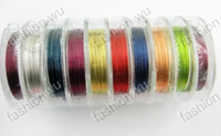 Wholesale 10 Roll MM Jewelry Dedicated Color Copper Wire