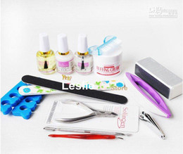 Wholesale professional nail care set NAIL KIT Acrylic nail whole set products for the base