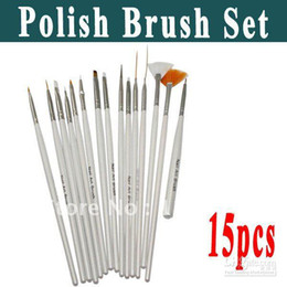 Wholesale per bag Nail Art Gel Design Painting Pen Polish Brush Set Different brush for di